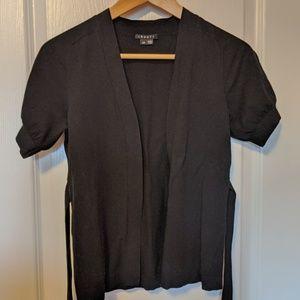 Theory Short sleeve wrap cardigan